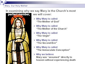 PPT on Mary, Our Holy Mother