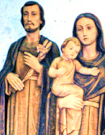 Holy Family of Joseph, Jesus, and Mary