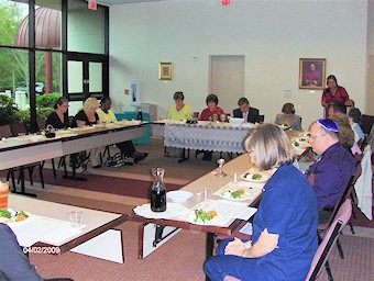 Diocesan Staff Passover Seder