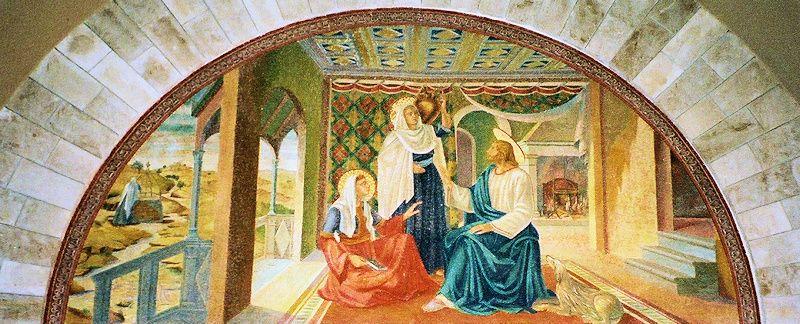 Mary, Martha, and Jesus